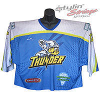 York City Thunder Sublimated Box Lacrosse Jerseys