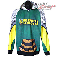 Hornets Sublimated Lacrosse Hoodies