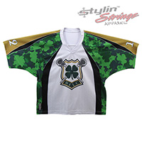 Shooting Irish Sublimated Lacrosse Jerseys