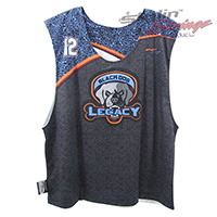 Black Dog Sublimated Lacrosse Reversibles