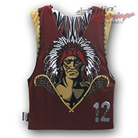 Farmington Sublimated Lacrosse Reversibles