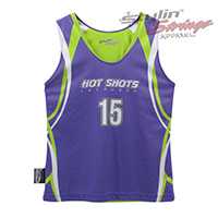 Hot Shots Sublimated Women's Lacrosse Reversibles
