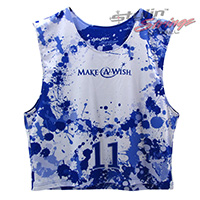 Make-A-Wish Sublimated Lacrosse Reversibles