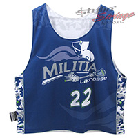 Militia Sublimated Lacrosse Reversibles