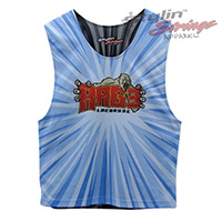 Rage Sublimated Lacrosse Reversibles