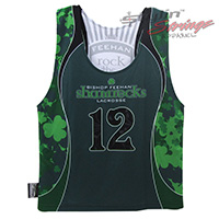 Shamrocks Sublimated Women's Lacrosse Reversibles