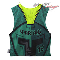 Spartans Sublimated Lacrosse Reversibles