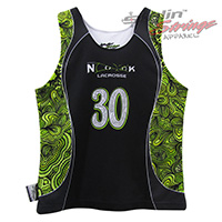 Spooky Nook Sublimated Women's Lacrosse Reversibles