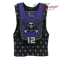 Toxic Lacrosse Sublimated Reversibles