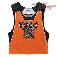Trojans Sublimated Lacrosse Reversibles