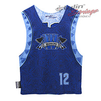 Warriors Sublimated Lacrosse Reversibles