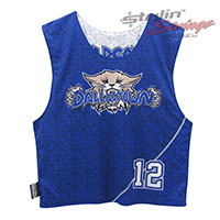 Wildcats Sublimated Lacrosse Reversibles