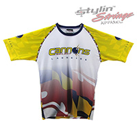 Cannons Select Sublimated Lacrosse Shooting Shirts