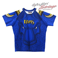 Rams Sublimated Lacrosse Men's Shooting Shirts
