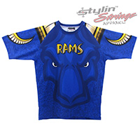 Rams Sublimated Lacrosse Women's Tapered Shooting Shirts