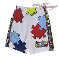 Autism Awareness Sublimated Shorts
