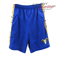 Rams Sublimated Men's Lacrosse Shorts