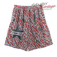 String Star Sublimated Lacrosse Shorts
