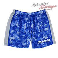 USMMA Sublimated Women's Track Compression Shorts