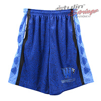 Warriors Sublimated Lacrosse Shorts