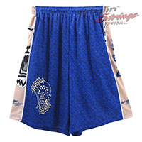 Wildcats Sublimated Lacrosse Shorts