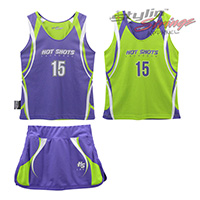 Hot Shots Sublimated Women's Lacrosse Uniform Sets
