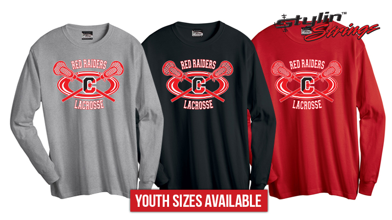 Stylin Strings Coatesville Youth Lacrosse Women's Long Sleeve T-Shirt