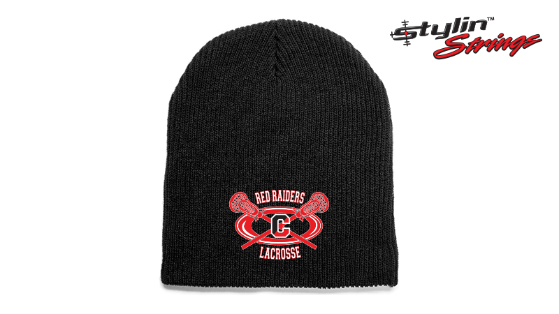 Stylin Strings Embroidered Coatesville Youth Lacrosse Beanie