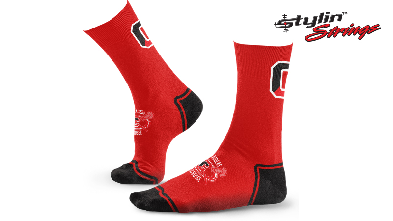 Stylin Strings Coatesville Youth Lacrosse Dye Sublimated Socks