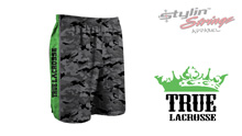 Stylin' Strings True Lacrosse Men's Camo Shorts