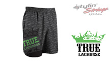Stylin' Strings True Lacrosse Men's Crown Pattern Shorts