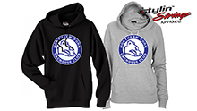 Stylin' Strings Northern York Women's Premium Hoodies